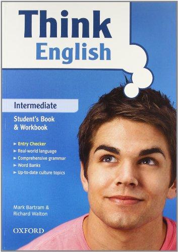 9780194548120: Think english. Intermediate. Student's book-Workbook-Culture book. Con espansione online. Con CD Audio. Per le Scuole superiori