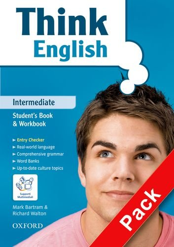 9780194548434: Think English basic pack. Intermediate. Student's pack: Student's book-Workbook. Con CD. Per le Scuole superiori