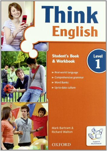 9780194548533: Think english. Student's book-Workbook-Think cult. Con espansione online. Per le Scuole superiori. Con CD-ROM: 1