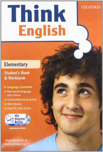 9780194548724: Think English. Elementary. Student's book-Workbook-Culture book-My digital book. Con espansione online. Per le Scuole superiori. Con CD-ROM