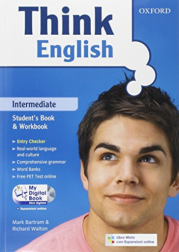 9780194548892: Think English. Intermediate. Entry check-Student's book-Workbook-Culture book-My digital book. Per le Scuole superiori. Con CD-ROM. Con espansione online