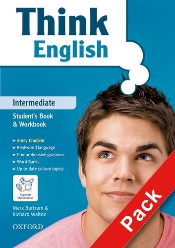 9780194548908: Think English. Intermediate. Student's book-Workbook-My digital book. Con espansione online. Per le Scuole superiori. Con CD-ROM