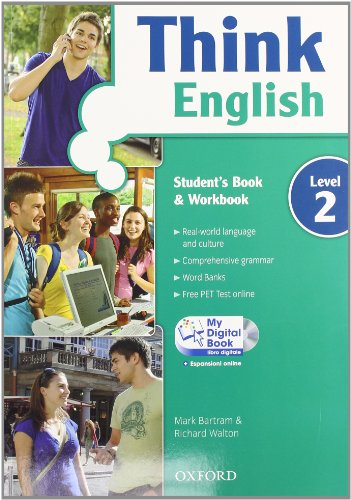 9780194549073: Think English. Student's book-Workbook-Culture book-My digital book. Con espansione online. Per le Scuole superiori. Con CD-ROM: 2