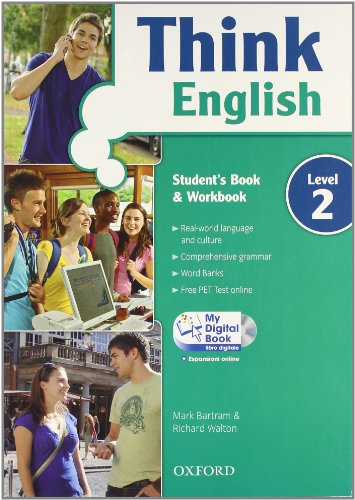 9780194549080: Think English. Student's book-Workbook-My digital book. Con espansione online. Per le Scuole superiori. Con CD-ROM: 2