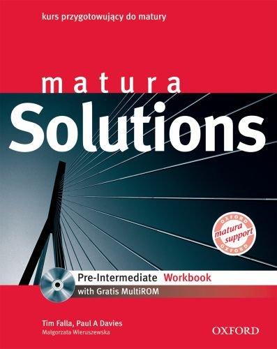 9780194550086: Matura Solutions Pre Intermediate Workbook + CD