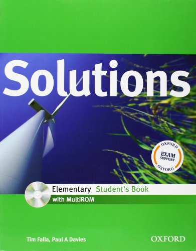 9780194551502: Solutions Elementary: Student's Book with MultiROM Pack