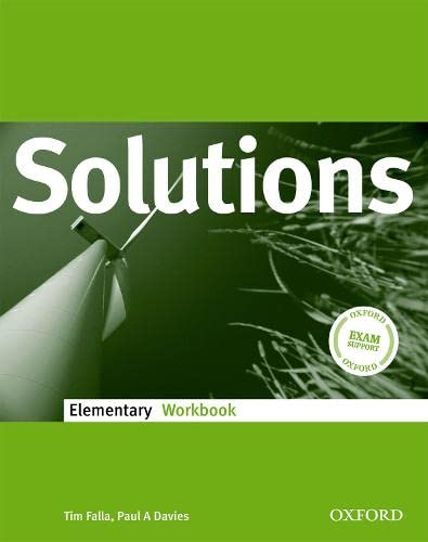 9780194551557: Solutions Elementary: Workbook