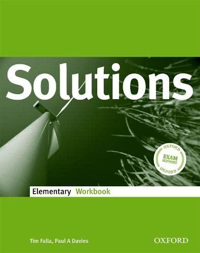 9780194551557: Solutions Elementary: Workbook