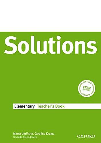 Solutions Elementary: Teacher s Book (Paperback): Tim Falla, Paul