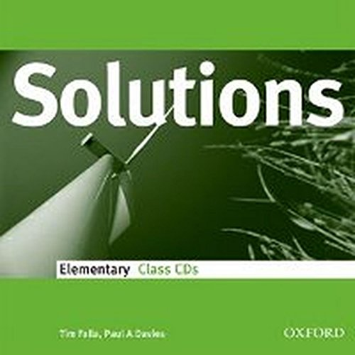 9780194551632: Solutions Elementary: Class Audio CDs (3)