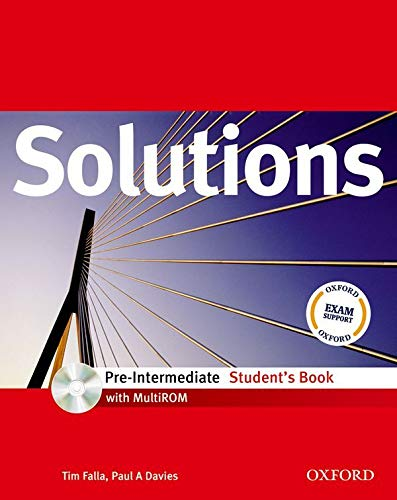 9780194551656: Solutions: Pre-Intermediate: Student's Book with MultiROM Pack