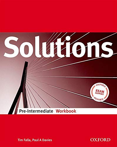 9780194551700: Solutions. Pre-intermediate. Workbook. Per le Scuole superiori