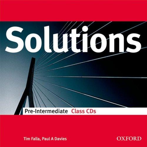 9780194551786: Solutions Pre-Intermediate: Class Audio CDs (2)