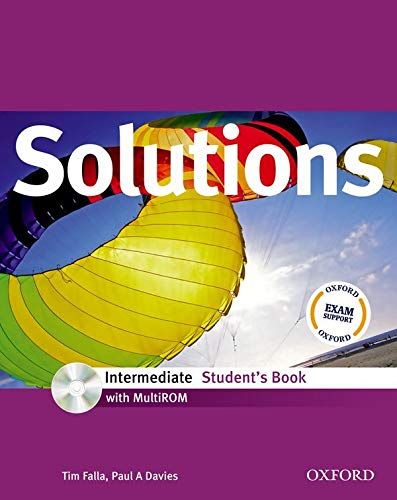 9780194551809: Solutions: Intermediate: Student's Book with MultiROM Pack