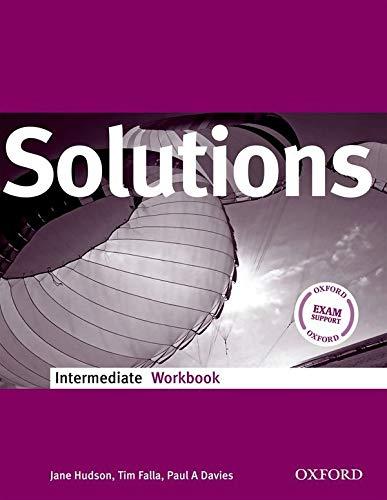 9780194551854: Solutions. Intermediate. Workbook. Per le Scuole superiori