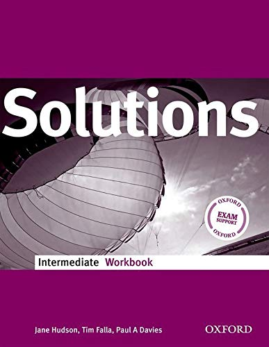 9780194551854: Solutions Intermediate: Workbook