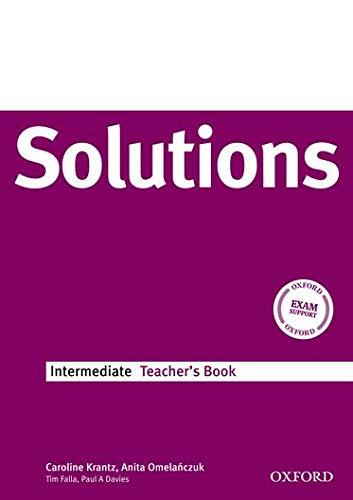 9780194551922: Solutions Intermediate: Teacher's Book