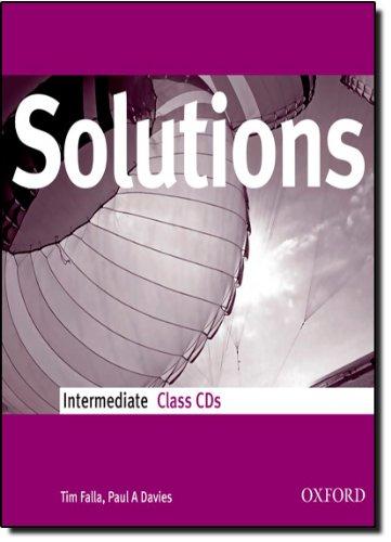 9780194551939: Solutions Intermediate: Class Audio CDs (3)