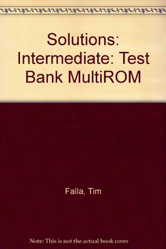 9780194551946: Solutions: Intermediate: Test Bank MultiROM