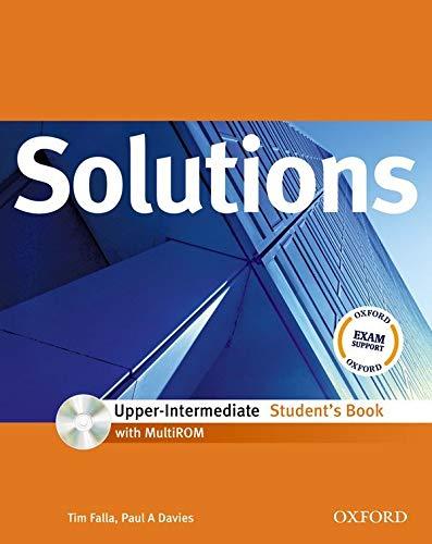 9780194551953: Solutions. Upper intermediate. Student's book. Con espansione online. Per le Scuole superiori. Con Multi-ROM