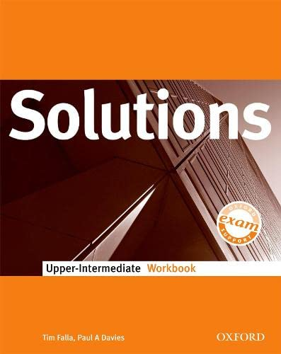 9780194552004: Solutions Upper-Intermediate: Workbook