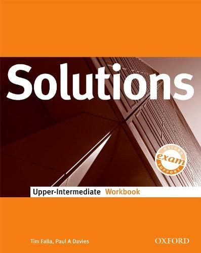 9780194552004: Solutions Upper-Intermediate: Workbook