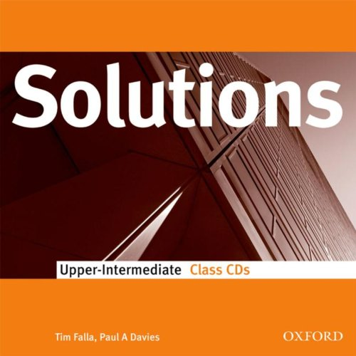 9780194552080: Solutions: Upper-Intermediate: Class Audio CDs (2)