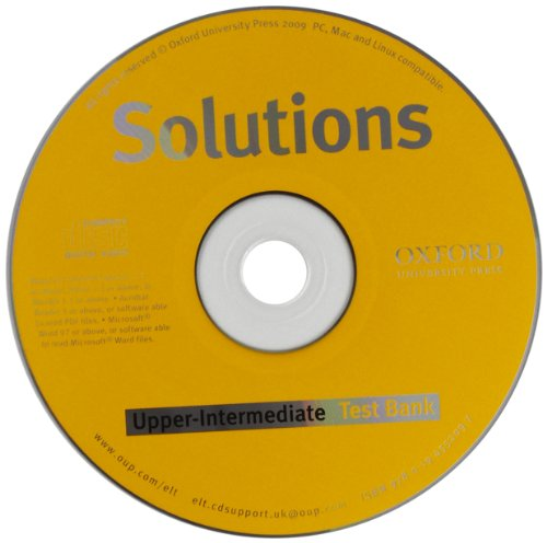 9780194552097: Solutions Upper-Intermediate: Test Bank MultiROM