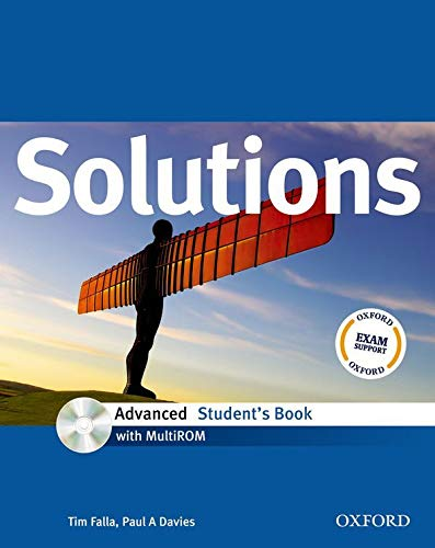 9780194552103: Solutions. Advanced. Student's book. Con espansione online. Per le Scuole superiori. Con Multi-ROM