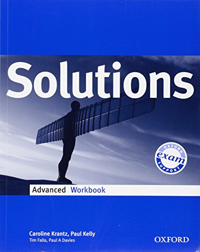 9780194552158: Solutions. Advanced. Workbook. Per le Scuole superiori