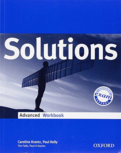 9780194552158: Solutions. Advanced. Workbook. Per le Scuole superiori
