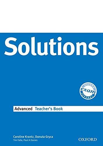 9780194552226: Solutions: Advanced: Teacher's Book