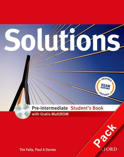 9780194552578: Solutions. Pre-intermediate. Student's book-Workbook. Con espansione online. Con CD Audio. Per le Scuole superiori