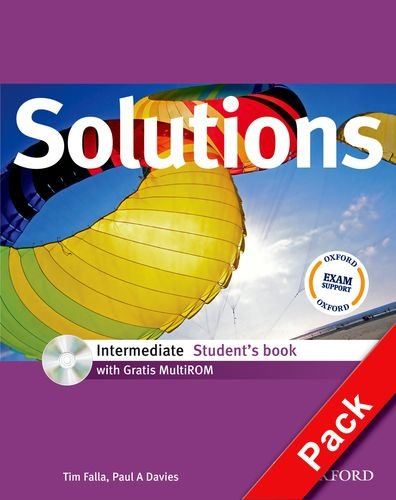 9780194552585: Solutions. Intermediate. Student's-Workbook. Con espansione online. Con CD Audio. Per le Scuole superiori