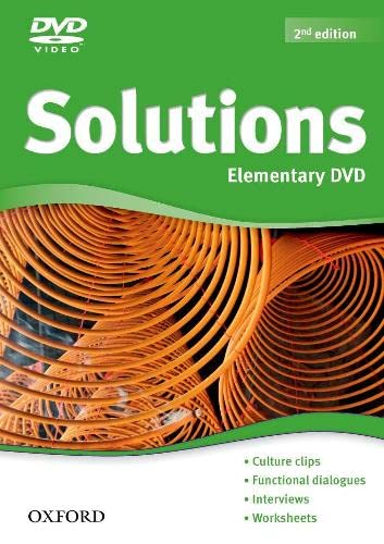 9780194552738: Solutions Elementary: DVD 2nd Edition (Solutions Second Edition)