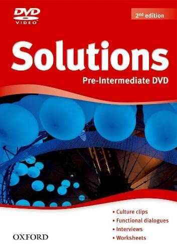 9780194552745: Solutions Pre-Intermediate: DVD 2nd Edition (Solutions Second Edition)
