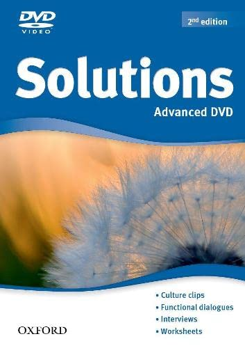 9780194552776: Solutions: Advanced: DVD-ROM