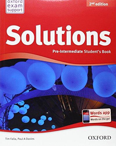 9780194552875: New Solutions Pre Intermediate Student Book
