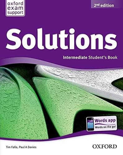 SOLUTIONS INTERMEDIATE SB