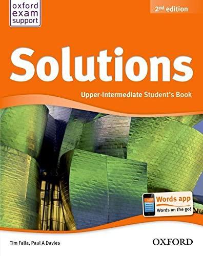 9780194552899: Solutions: Upper-Intermediate: Student's Book