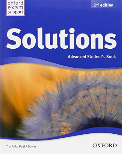 9780194552905: Solutions. Advanced. Student's Book (Miscellaneous) - 9780194552905 (Solutions Second Edition)
