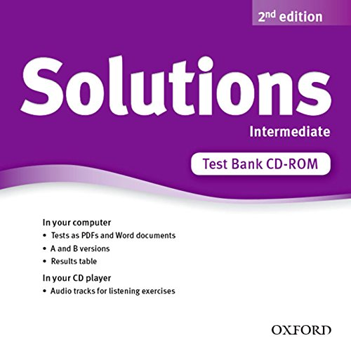 9780194553414: Solutions: Intermediate: Test Bank CD-ROM