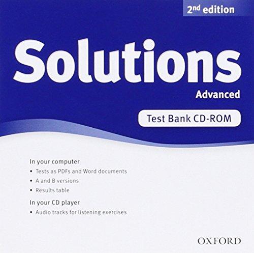 New Solutions Advanced Test CD-rom: Tim Falla
