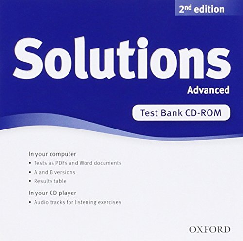 9780194553438: Solutions Advanced: Test CD-ROM 2nd Edition (Solutions Second Edition)