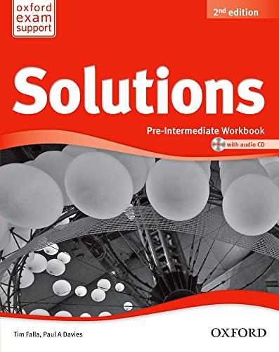 9780194553667: Solutions: Pre-Intermediate: Workbook and Audio CD Pack