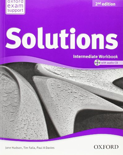 9780194553674: Solutions: Intermediate: Workbook and Audio CD Pack