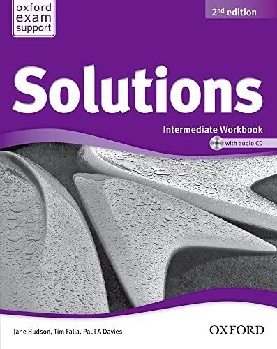 SOLUTIONS INTERMEDIATE WB & CD PK