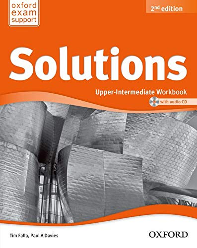 9780194553681: Solutions. Upper-Intermediate. Workbook and Audio CD Pack (Miscellaneous) - 9780194553681 (Solutions Second Edition)