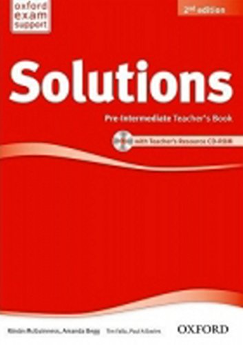 9780194553711: Solutions: Pre-Intermediate: Teacher's Book and CD-ROM Pack