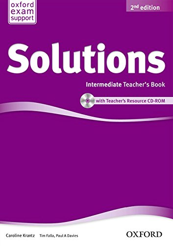 9780194553728: Solutions: Intermediate: Teacher's Book and CD-ROM Pack